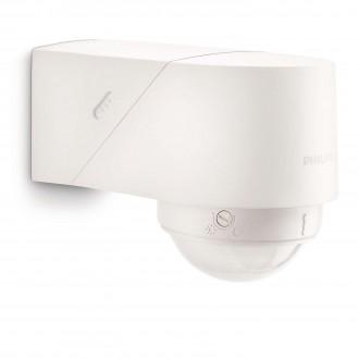 PHILIPS 17266/31/16 | Philips mozgásérzékelő PIR 360° fényérzékelő szenzor - alkonykapcsoló elforgatható alkatrészek IP44 fehér
