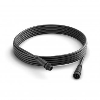 PHILIPS 17424/30/PN | Philips összekötő kábel hue okos világítás IP67 fekete