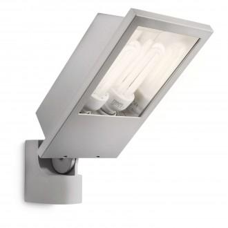 PHILIPS 17515/87/16 | Botanic Philips fényvető lámpa 2x E27 2860lm 2700K IP44 világosszürke