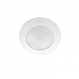 PHILIPS 31155/31/PH | PHILIPS-hue_Phoenix Philips beépíthető hue okos világítás kerek szabályozható fényerő, állítható színhőmérséklet 140x140mm 1x LED 447lm 2200 <-> 6500K fehér