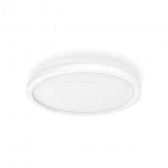 PHILIPS 32164/31/P6 | PHILIPS-hue-Aurelle Philips mennyezeti hue DIM hordozható kapcsoló + hue okos világítás kerek távirányító szabályozható fényerő, állítható színhőmérséklet, Bluetooth 1x LED 2200lm 2200 <-> 6500K fehér
