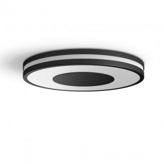 PHILIPS 32610/30/P6 | PHILIPS-hue-Being Philips mennyezeti hue DIM hordozható kapcsoló + hue okos világítás kerek távirányító szabályozható fényerő, állítható színhőmérséklet, Bluetooth 1x LED 2400lm 2200 <-> 6500K fekete, fehér