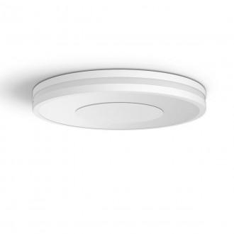 PHILIPS 32610/31/P6 | PHILIPS-hue-Being Philips mennyezeti hue DIM hordozható kapcsoló + hue okos világítás kerek távirányító szabályozható fényerő, állítható színhőmérséklet, Bluetooth 1x LED 2400lm 2200 <-> 6500K fehér