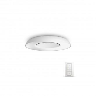 PHILIPS 32613/31/P7 | PHILIPS-hue_Still Philips mennyezeti hue okos világítás kerek távirányító szabályozható fényerő, állítható színhőmérséklet 1x LED 2400lm 2200 <-> 6500K fehér