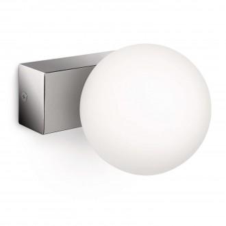 PHILIPS 34054/11/16 | Drops Philips fali lámpa szabályozható fényerő 1x G9 630lm 2700K IP21 króm, fehér