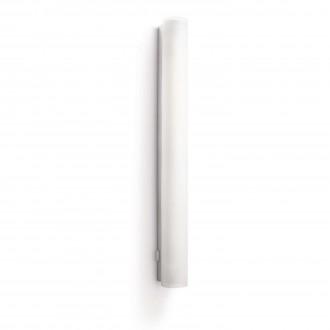 PHILIPS 34094/11/16 | Vitalise Philips fali lámpa kapcsoló energiatakarékos izzóhoz tervezve 1x G5 / T5 1000lm 2700K IP44 fehér