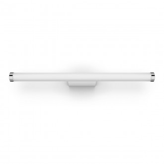 PHILIPS 34182/31/P6 | PHILIPS-hue-Adore Philips falikar hue DIM hordozható kapcsoló + hue okos világítás henger távirányító szabályozható fényerő, színváltós, állítható színhőmérséklet, Bluetooth 1x LED 1750lm 2200 <-> 6500K IP44 fehér, króm
