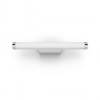 PHILIPS 34183/31/P6 | PHILIPS-hue-Adore Philips falikar hue DIM hordozható kapcsoló + hue okos világítás henger távirányító szabályozható fényerő, színváltós, állítható színhőmérséklet, Bluetooth 1x LED 1050lm 2200 <-> 6500K IP44 fehér, króm