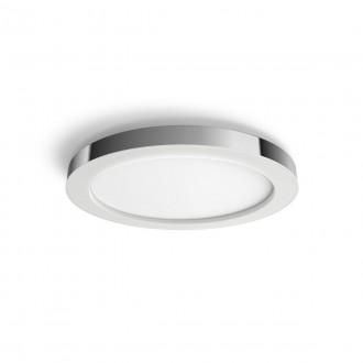PHILIPS 34184/11/P6 | PHILIPS-hue-Adore Philips mennyezeti hue DIM hordozható kapcsoló + hue okos világítás kerek távirányító szabályozható fényerő, színváltós, állítható színhőmérséklet, Bluetooth 1x LED 2400lm 2200 <-> 6500K IP44 króm, fehér