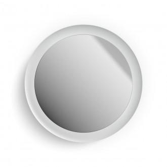 PHILIPS 34186/31/P6 | PHILIPS-hue-Adore Philips fali hue DIM hordozható kapcsoló + hue okos világítás kerek távirányító szabályozható fényerő, színváltós, állítható színhőmérséklet, Bluetooth 1x LED 2400lm 2200 <-> 6500K IP44 fehér, tükör