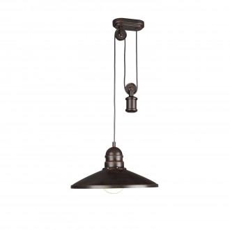 PHILIPS 37665/86/10 | Aki Philips függeszték lámpa ellensúlyos, állítható magasság, energiatakarékos izzóhoz tervezve 1x E27 sötétbarna
