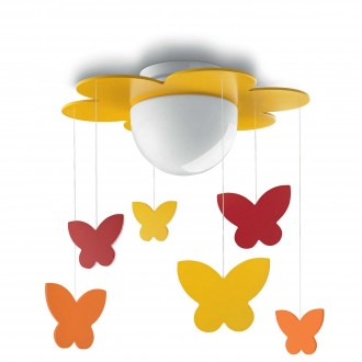 PHILIPS 40096/34/P0 | Meria Philips mennyezeti lámpa 1x LED 1055lm 2700K sárga, többszínű