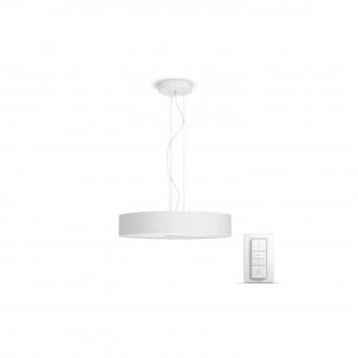PHILIPS 40339/31/P7 | PHILIPS-hue_Fair Philips függeszték hue okos világítás kerek távirányító szabályozható fényerő, állítható színhőmérséklet 1x LED 3000lm 2200 <-> 6500K fehér