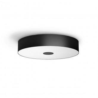 PHILIPS 40340/30/P6 | PHILIPS-hue-Fair Philips mennyezeti hue DIM hordozható kapcsoló + hue okos világítás kerek távirányító szabályozható fényerő, állítható színhőmérséklet, Bluetooth 1x LED 3000lm 2200 <-> 6500K fekete, fehér