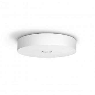 PHILIPS 40340/31/P6 | PHILIPS-hue-Fair Philips mennyezeti hue DIM hordozható kapcsoló + hue okos világítás kerek távirányító szabályozható fényerő, állítható színhőmérséklet, Bluetooth 1x LED 3000lm 2200 <-> 6500K fehér