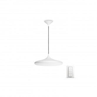PHILIPS 40761/31/P7 | PHILIPS-hue_Cher Philips függeszték hue okos világítás kerek távirányító szabályozható fényerő, állítható színhőmérséklet 1x LED 3000lm 2200 <-> 6500K fehér