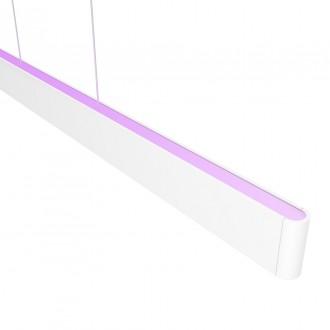 PHILIPS 40903/31/P9 | PHILIPS-hue-Ensis Philips függeszték hue okos világítás szabályozható fényerő, színváltós, állítható színhőmérséklet, Bluetooth 2x LED 6000lm 2200 <-> 6500K fehér