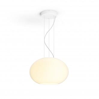 PHILIPS 40906/31/P7 | PHILIPS-hue-Flourish Philips függeszték hue okos világítás szabályozható fényerő, állítható színhőmérséklet, színváltós 1x LED 3000lm 2200 <-> 6500K fehér