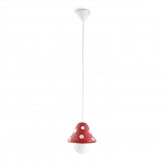 PHILIPS 41017/32/16 | Boletu Philips függeszték lámpa állítható magasság 1x E27 1140lm 2700K piros, fehér