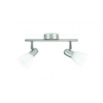 PHILIPS 50232/17/E7 | Burlap Philips fali, mennyezeti lámpa elforgatható alkatrészek 2x E14 matt króm, fehér