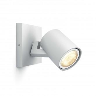 PHILIPS 53090/31/P8 | PHILIPS-hue_Runner Philips fali, mennyezeti hue okos világítás kerek szabályozható fényerő, állítható színhőmérséklet 1x GU10 250lm 2200 <-> 6500K fehér