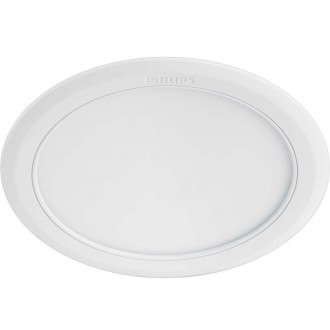 PHILIPS 59529/31/P1 | Marcasite Philips beépíthető LED panel kerek Ø210mm 1x LED 2100lm 3000K fehér