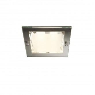 PHILIPS 59791/17/10 | Lava2 Philips beépíthető lámpa energiatakarékos izzóhoz tervezve 163x163mm 2x E27 matt króm