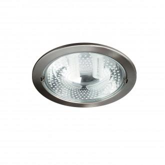 PHILIPS 59799/17/10 | Ronda1 Philips beépíthető lámpa energiatakarékos izzóhoz tervezve Ø230mm 2x E27 matt króm