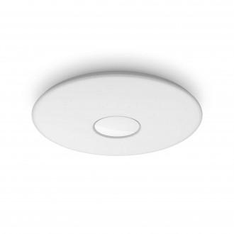 PHILIPS 61083/31/P5 | Haraz Philips mennyezeti lámpa kerek távirányító szabályozható fényerő, állítható színhőmérséklet 1x LED 2800lm 2700 - 4000 - 6500K fehér