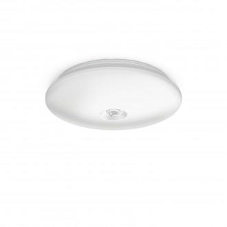 PHILIPS 62234/31/P0 | Mauve Philips fali, mennyezeti lámpa mozgásérzékelő 4x LED 1300lm 2700K fehér