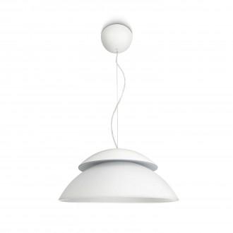 PHILIPS 71200/31/PH | PHILIPS-hue_Beyond Philips függeszték hue okos világítás kerek szabályozható fényerő, színváltós 4x LED 1200lm 2200 <-> 6500K fehér
