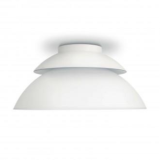 PHILIPS 71201/31/PH | PHILIPS-hue_Beyond Philips mennyezeti hue okos világítás kerek szabályozható fényerő, színváltós 4x LED 1200lm 2200 <-> 6500K fehér
