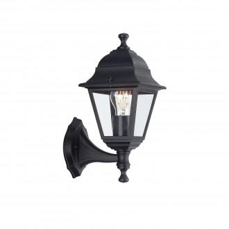 PHILIPS 71425/01/30 | Lima Philips fali lámpa 1x E27 IP44 fekete