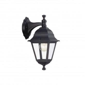 PHILIPS 71426/01/30 | Lima Philips fali lámpa 1x E27 IP44 fekete