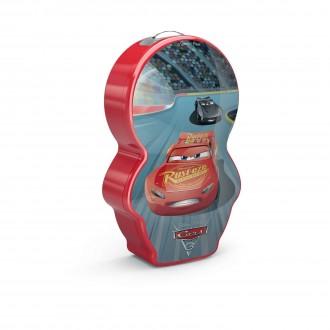 PHILIPS 71767/32/P0 | Cars Philips hordozható zseblámpa kapcsoló 1x LED 5lm 2700K többszínű, piros
