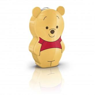 PHILIPS 71767/34/16 | Winnie-the-Pooh Philips hordozható zseblámpa kapcsoló 1x LED 5lm 2700K többszínű