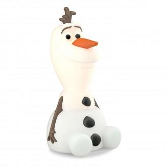 PHILIPS 71768/08/16 | SoftPal_Frozen_Olaf Philips hordozható lámpa kapcsoló 2x LED 5lm 2700K fehér, többszínű