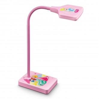 PHILIPS 71770/28/16   Princess Philips asztali lámpa 34,7cm kapcsoló flexibilis 1x LED 270lm 2700K pink, többszínű