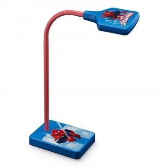 PHILIPS 71770/40/16   Spiderman Philips asztali lámpa 34,7cm kapcsoló flexibilis 1x LED 270lm 2700K piros, többszínű