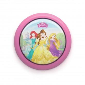 PHILIPS 71924/28/16 | Princess Philips fali lámpa kapcsoló 1x LED 5lm 2700K pink, többszínű