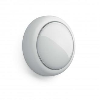 PHILIPS 71924/31/P0 | Shelf_Battery Philips fali lámpa kapcsoló 1x LED 5lm 2700K fehér