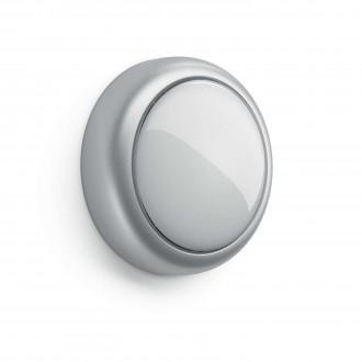 PHILIPS 71924/48/P0 | Shelf_Battery Philips fali lámpa kapcsoló 1x LED 5lm 2700K szürke, fehér