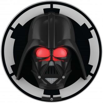 PHILIPS 71936/30/P0 | Star-Wars-Darth-Vader Philips fali lámpa kapcsoló 1x LED 2700K fekete, piros