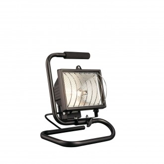 PHILIPS 74904/21/30 | Faro Philips hordozható lámpa 1x R7s fekete