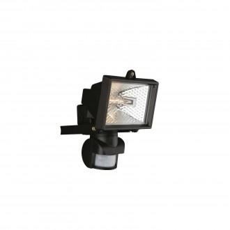 PHILIPS 74946/21/30 | Faro Philips fényvető lámpa mozgásérzékelő 1x R7s IP44 fekete