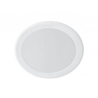 PHILIPS 8718696173589 | Meson Philips beépíthető LED panel kerek Ø95mm 1x LED 550lm 6500K fehér