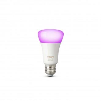 PHILIPS 8718696592984 | E27 10W Philips normál A19 LED fényforrás hue okos világítás 806lm 2200 <-> 6500K szabályozható fényerő, színváltós 160° CRI>80