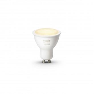 PHILIPS 8718696598283 | GU10 5,5W Philips spot LED fényforrás hue okos világítás 250lm 2200 <-> 6500K szabályozható fényerő, állítható színhőmérséklet 45° CRI>80
