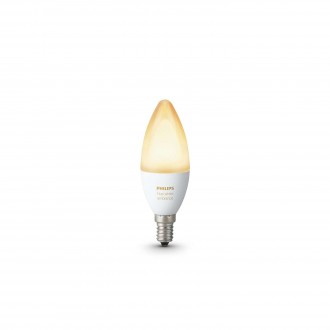 PHILIPS 8718696695203 | E14 6W Philips gyertya B39 LED fényforrás hue okos világítás 470lm 2200 <-> 6500K szabályozható fényerő, állítható színhőmérséklet