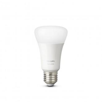 PHILIPS 8718696785270 | E27 9W -> 60W Philips normál A60 LED fényforrás hue okos világítás 806lm 2700K szabályozható fényerő, Bluetooth, 2 darabos szett CRI>80